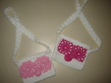 Háčkované kabelky pro holčičky